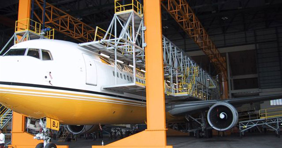 Hangar Design & Construction Portfolio - Aircraft Support